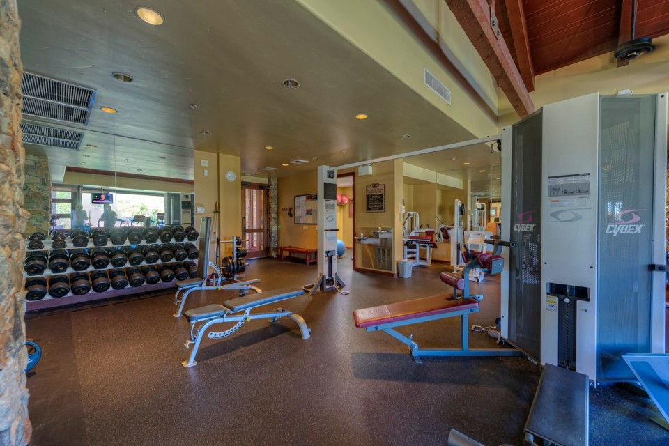 Gym in DC Ranch, Arizona | Christy Mooney Properties