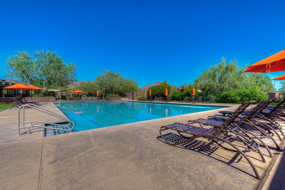 Olympic sized pool in DC Ranch, Arizona Olympic sized pool at Stonegate in Arizona | Christy Mooney Properties