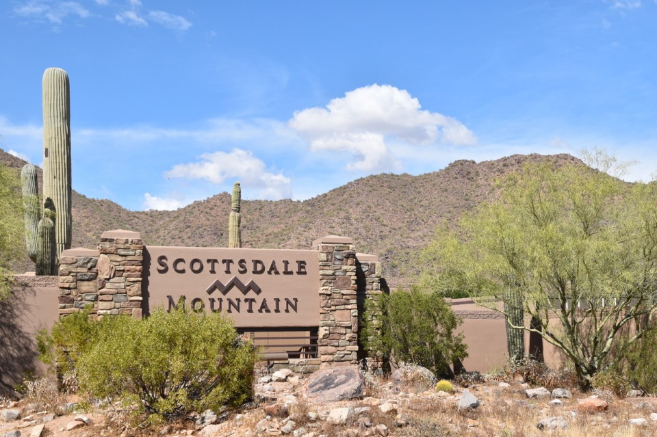 Scottsdale Mountain Gate | Christy Mooney Properties