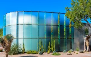 Scottsdale, AZ - Nov. 5, 2016: Scottsdale Museum of Contemporary Art. It is Arizona's only permanent museum dedicated solely to modern works of art, design and architecture.