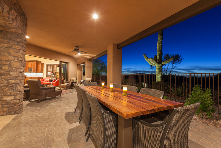 Luxury Desert Home Patio